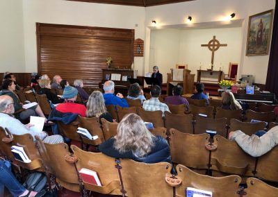 NWWS-2019-participant-reading-at-Presb.-Church